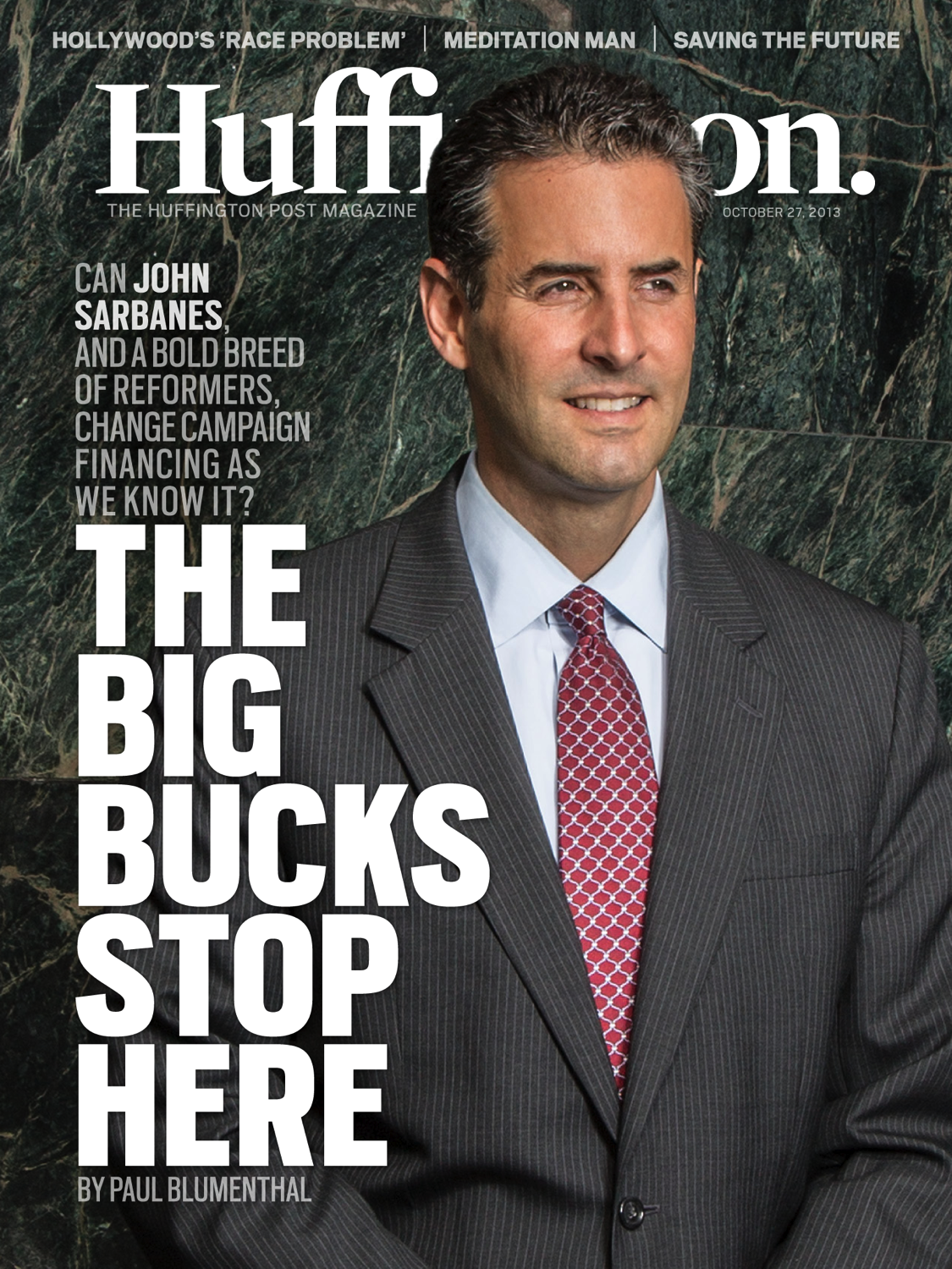 Huffington Post Profile of Sarbanes Campaign